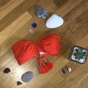 Michael Kors Bandeau Bikini Top